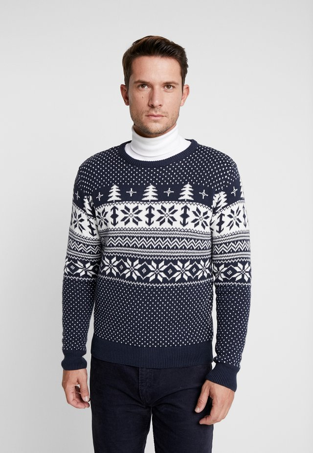 THEJS - Pullover - insignia blue
