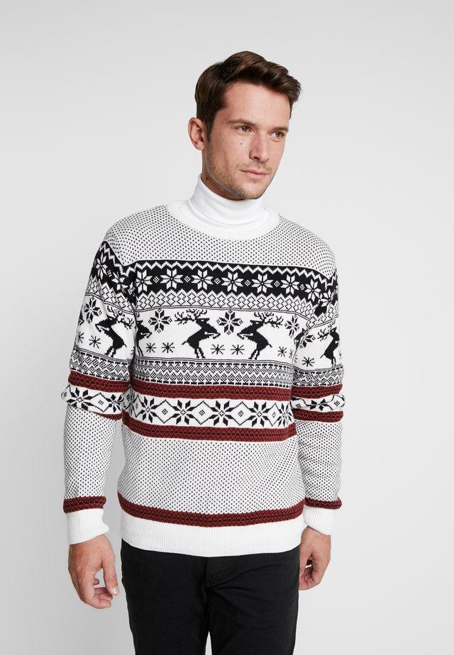 THORFIN - Pullover - white