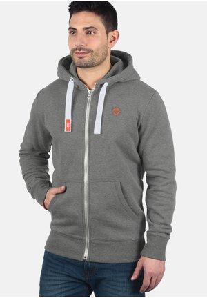 BENN - Zip-up hoodie - grey melange