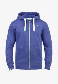 Solid - BENN - Zip-up hoodie - blue - 3
