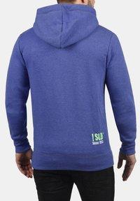Solid - BENN - Zip-up hoodie - blue - 1