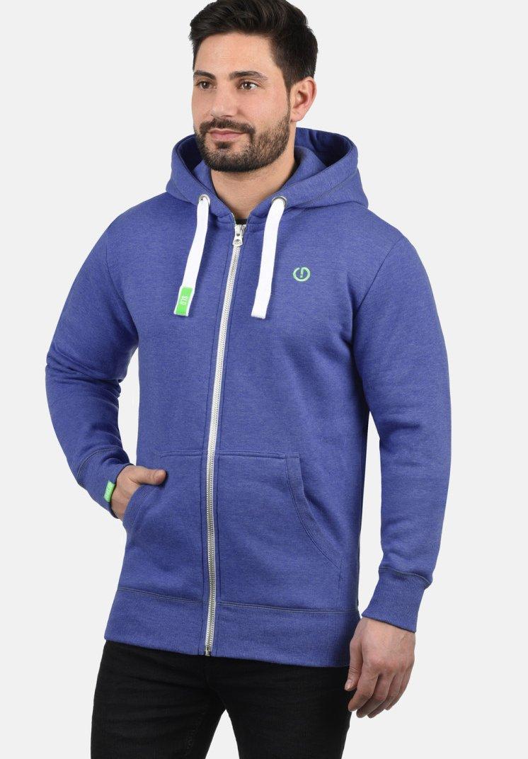 Solid - BENN - Zip-up hoodie - blue