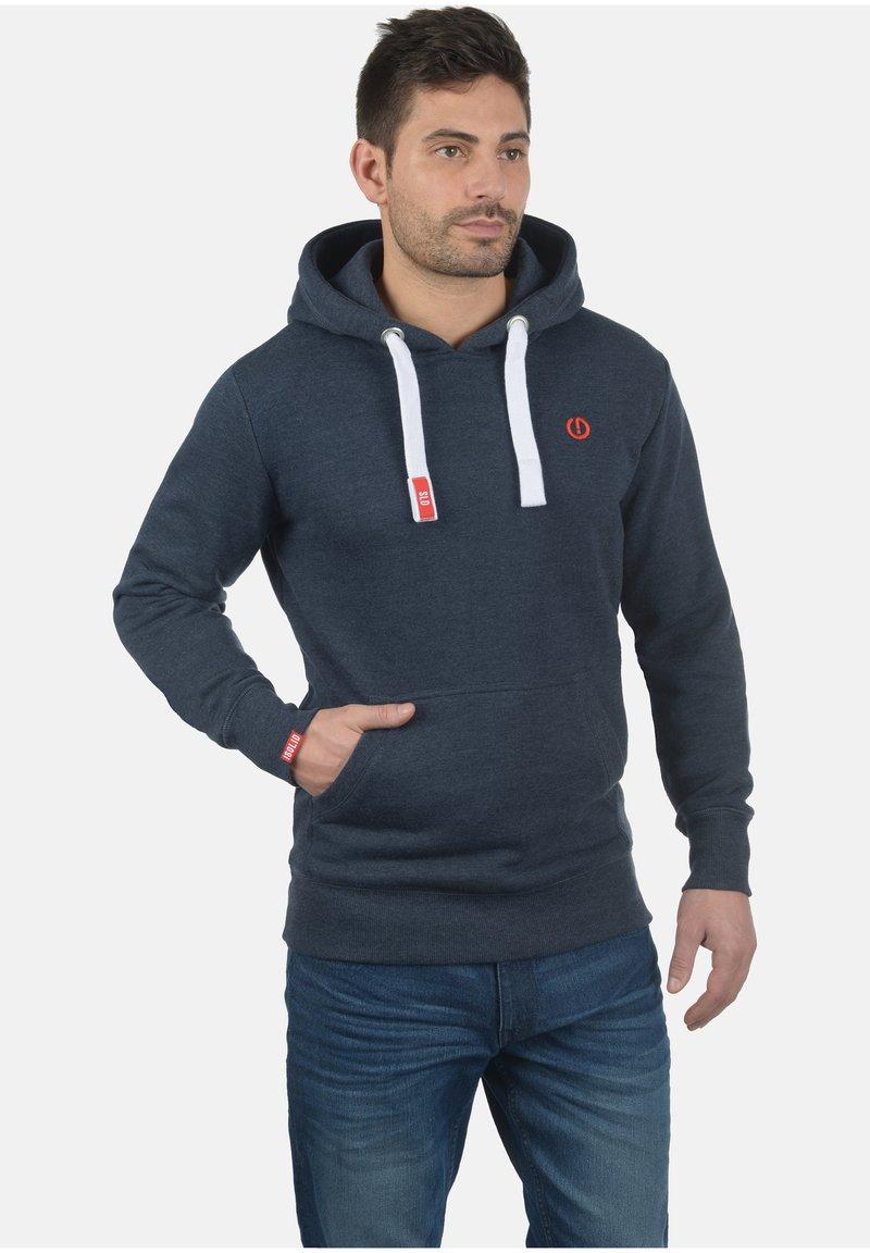 Solid - BENN - Kapuzenpullover - med grey