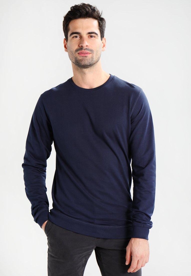 Solid Dark Blue Solid Solid GaronSweatshirt Dark GaronSweatshirt Blue xeorQdCBW