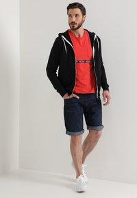 Solid - MORGAN ZIP - Zip-up hoodie - black - 1