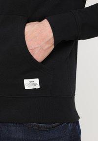 Solid - MORGAN ZIP - Zip-up hoodie - black - 5
