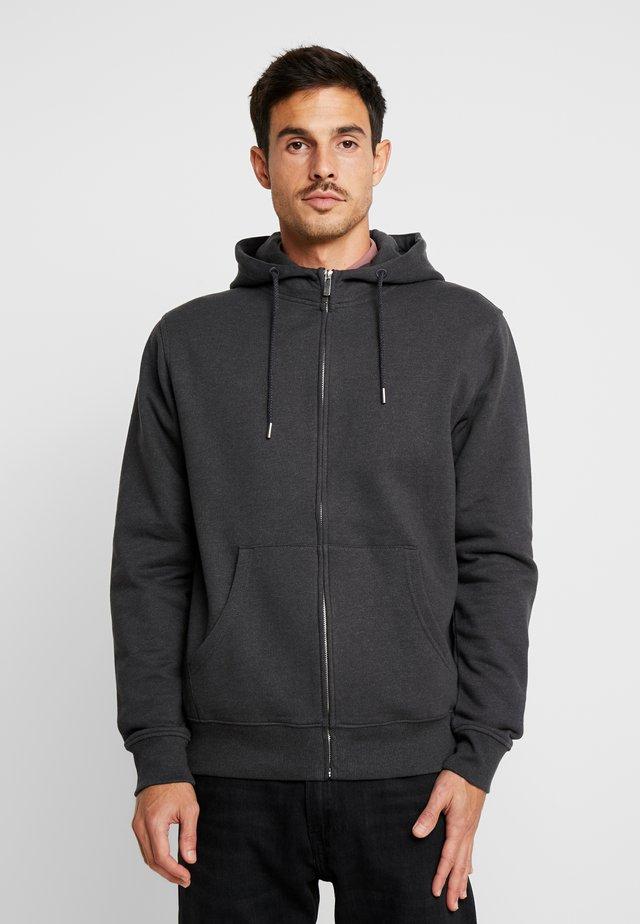 MORGAN ZIP - veste en sweat zippée - grey