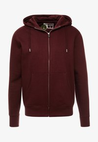 Solid - MORGAN ZIP - Zip-up hoodie - wine - 4
