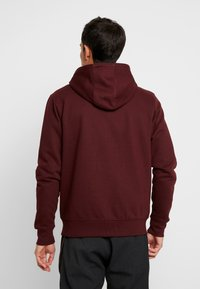 Solid - MORGAN ZIP - Zip-up hoodie - wine - 2