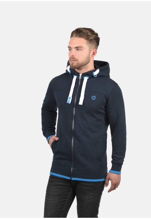 BENJAMIN - Zip-up hoodie - blue