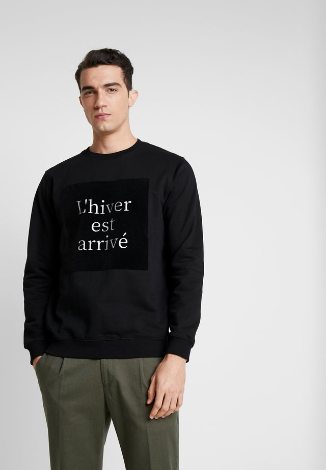 GABRIAN CREW - Sweatshirt - black