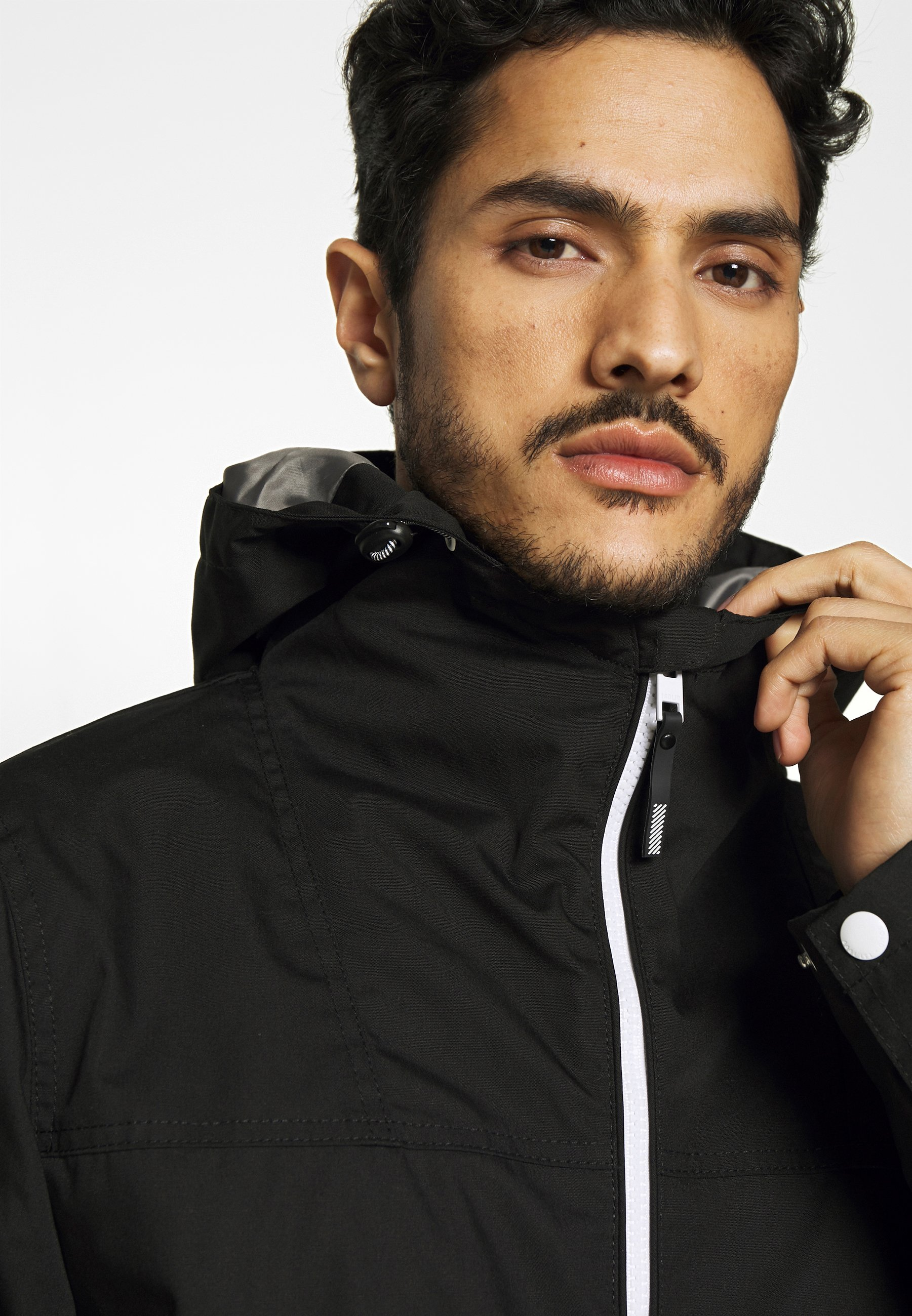 Solid JACKET HUNT - Kurtka wiosenna - black