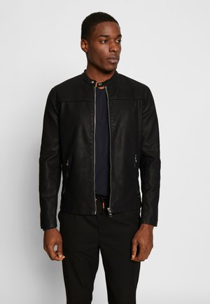 JACKET - Giacca in similpelle - black