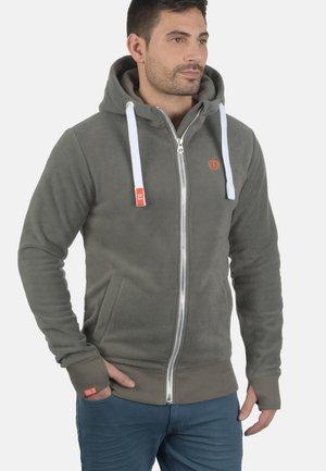 FLEECEJACKE LOKI - Fleece jacket - mid gray