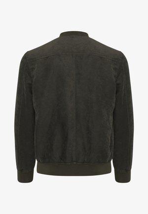 JOVI  - Faux leather jacket - dusty oliv