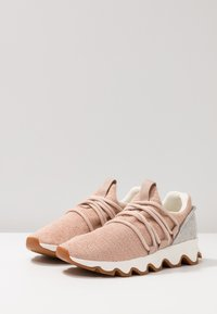 Sorel - KINETIC LACE - Sneakersy niskie - natural tan - 4