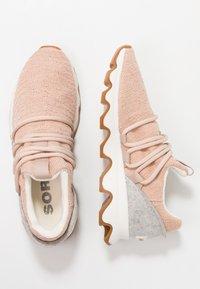 Sorel - KINETIC LACE - Sneakersy niskie - natural tan - 3