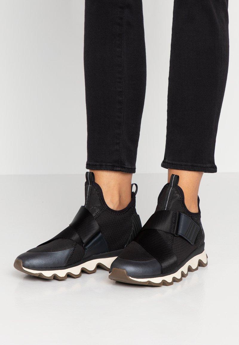 Sorel - KINETIC  - High-top trainers - black/white