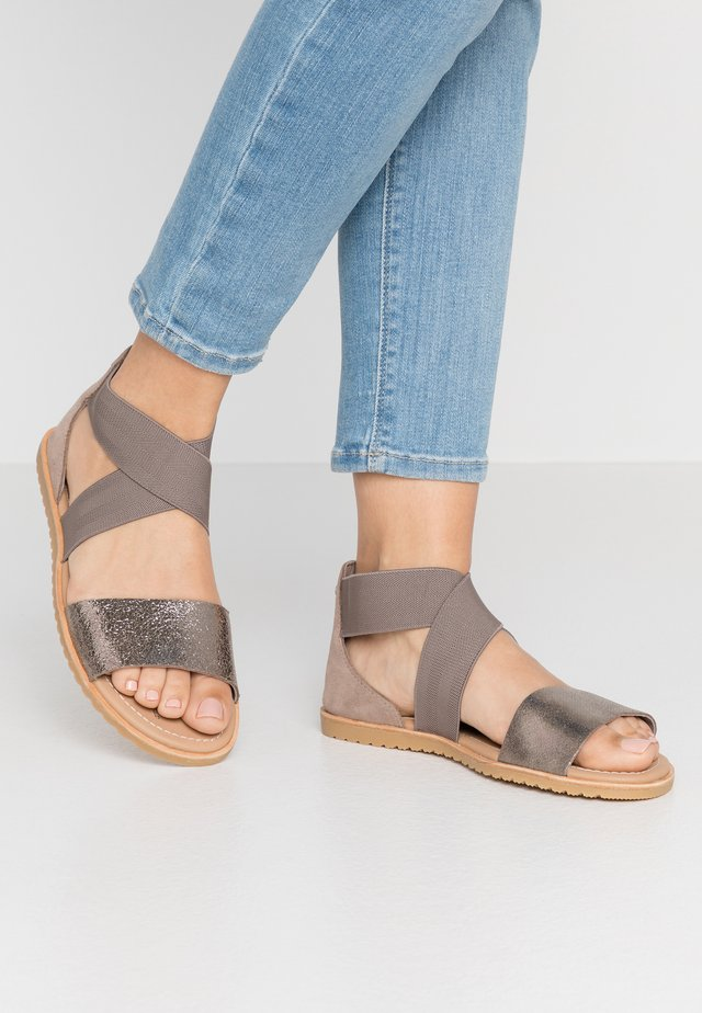 ELLA - Sandals - ash brown