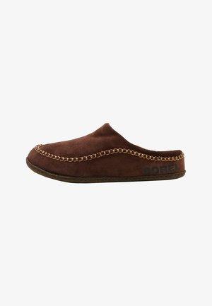 Domácí obuv - tobacco