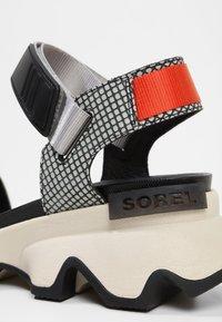Sorel - KINETIC  - Walking sandals - dove - 6