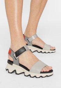Sorel - KINETIC  - Walking sandals - dove - 0