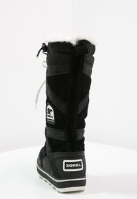 Sorel - GLACY EXPLORER - Winter boots - black - 4