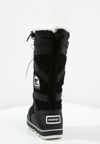 Sorel - GLACY EXPLORER - Zimní obuv - black - 4