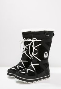 Sorel - GLACY EXPLORER - Winter boots - black