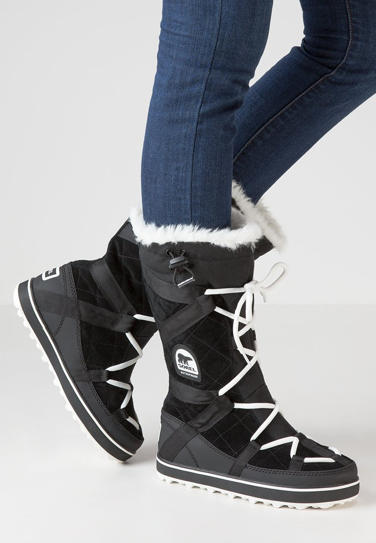Sorel - GLACY EXPLORER - Zimní obuv - black