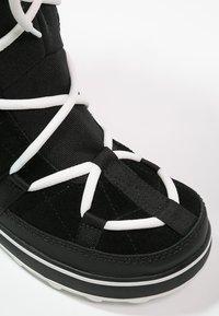 Sorel - GLACY EXPLORER - Zimní obuv - black - 6