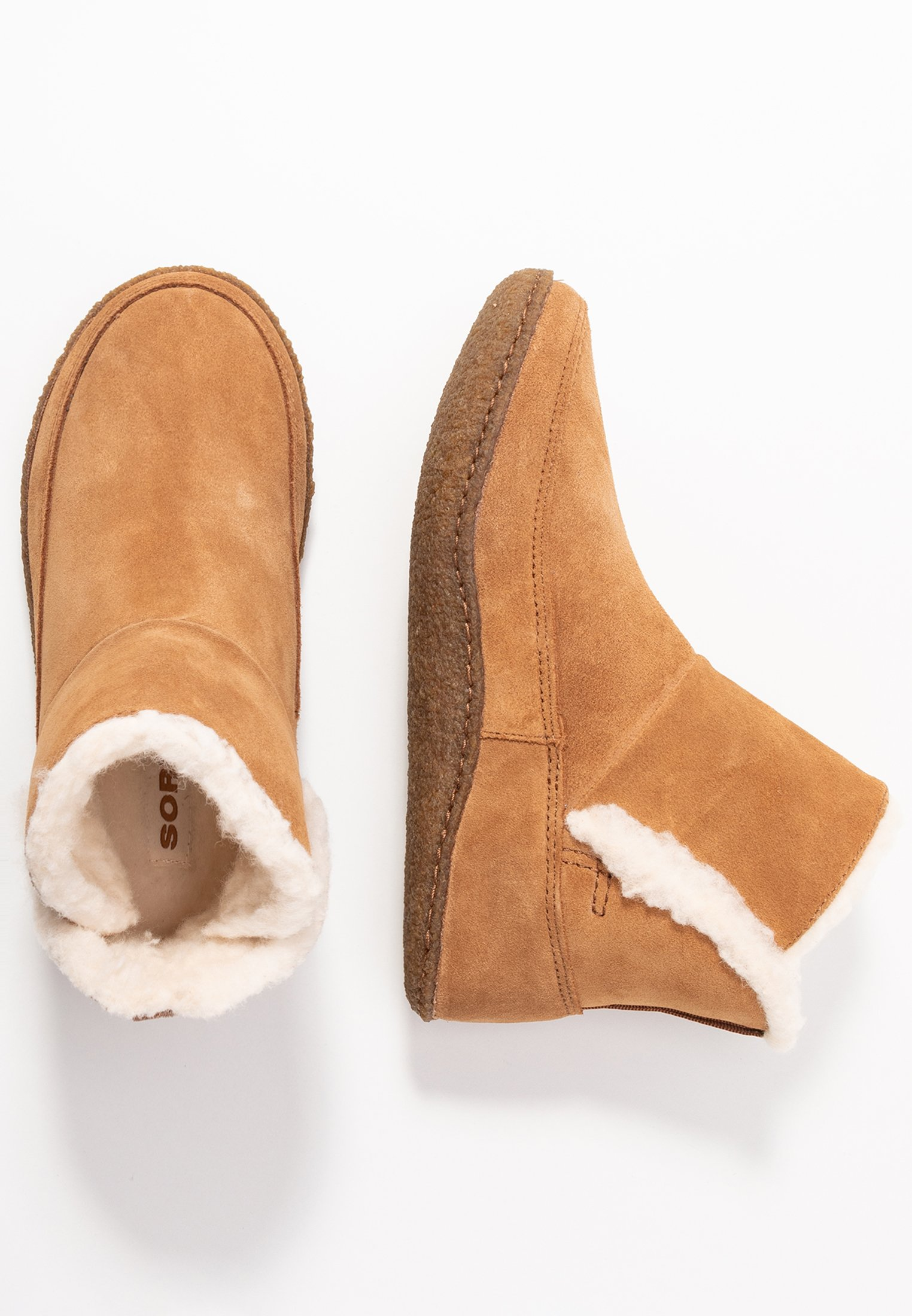 Sorel NAKISKA BOOTIE - Botki - camel brown