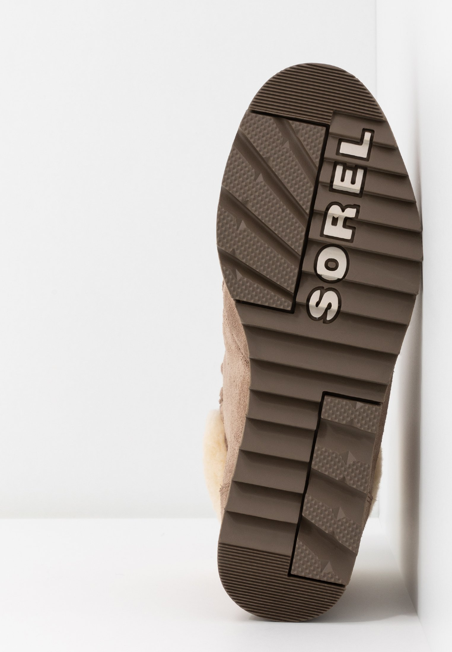 Sorel HARLOW LACE COZY  - Ankelboots - ash brown