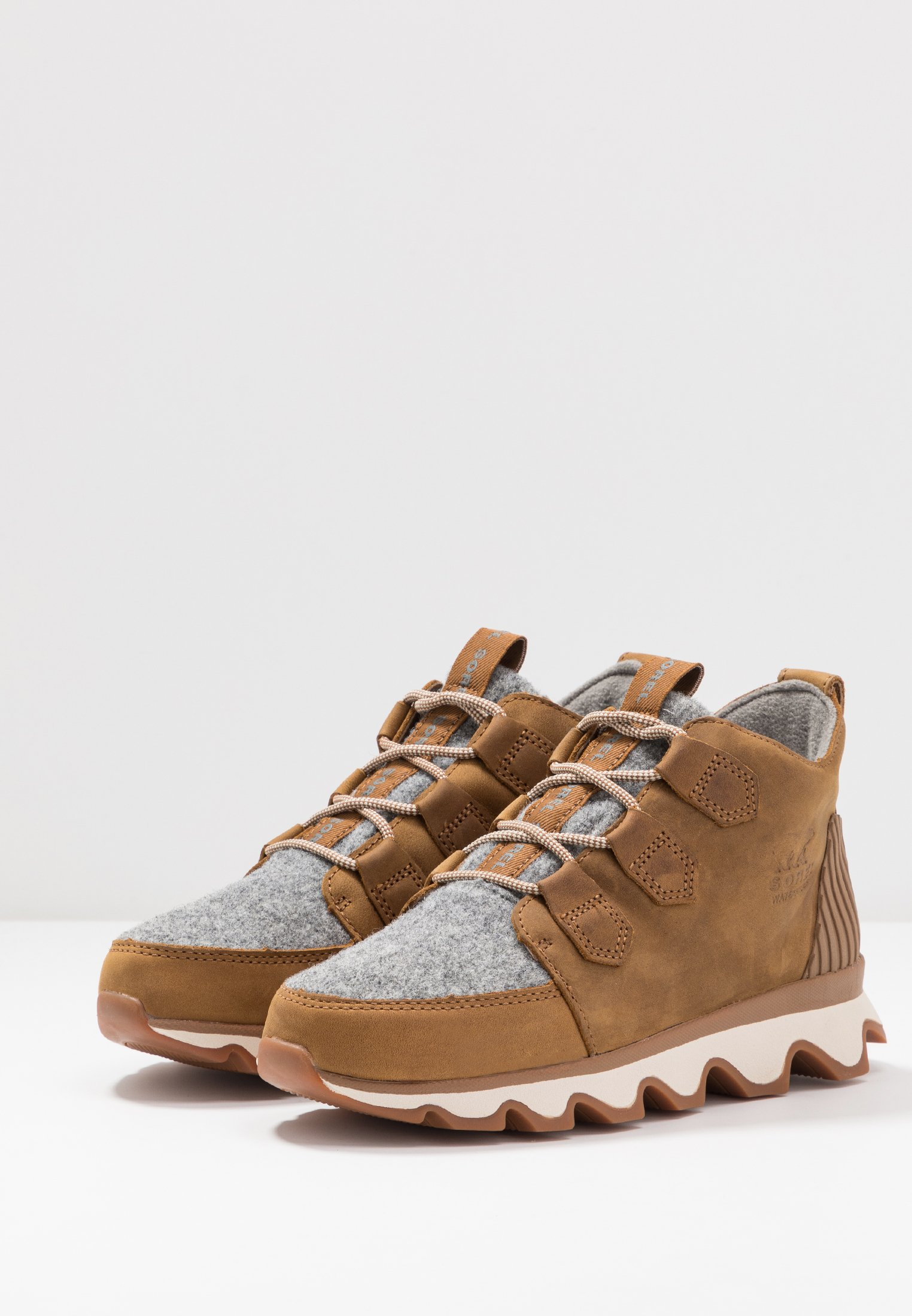 Discount Cheapest Sorel KINETIC CARIBOU - Ankle boots - camel brown | women's shoes 2020 pYMZf