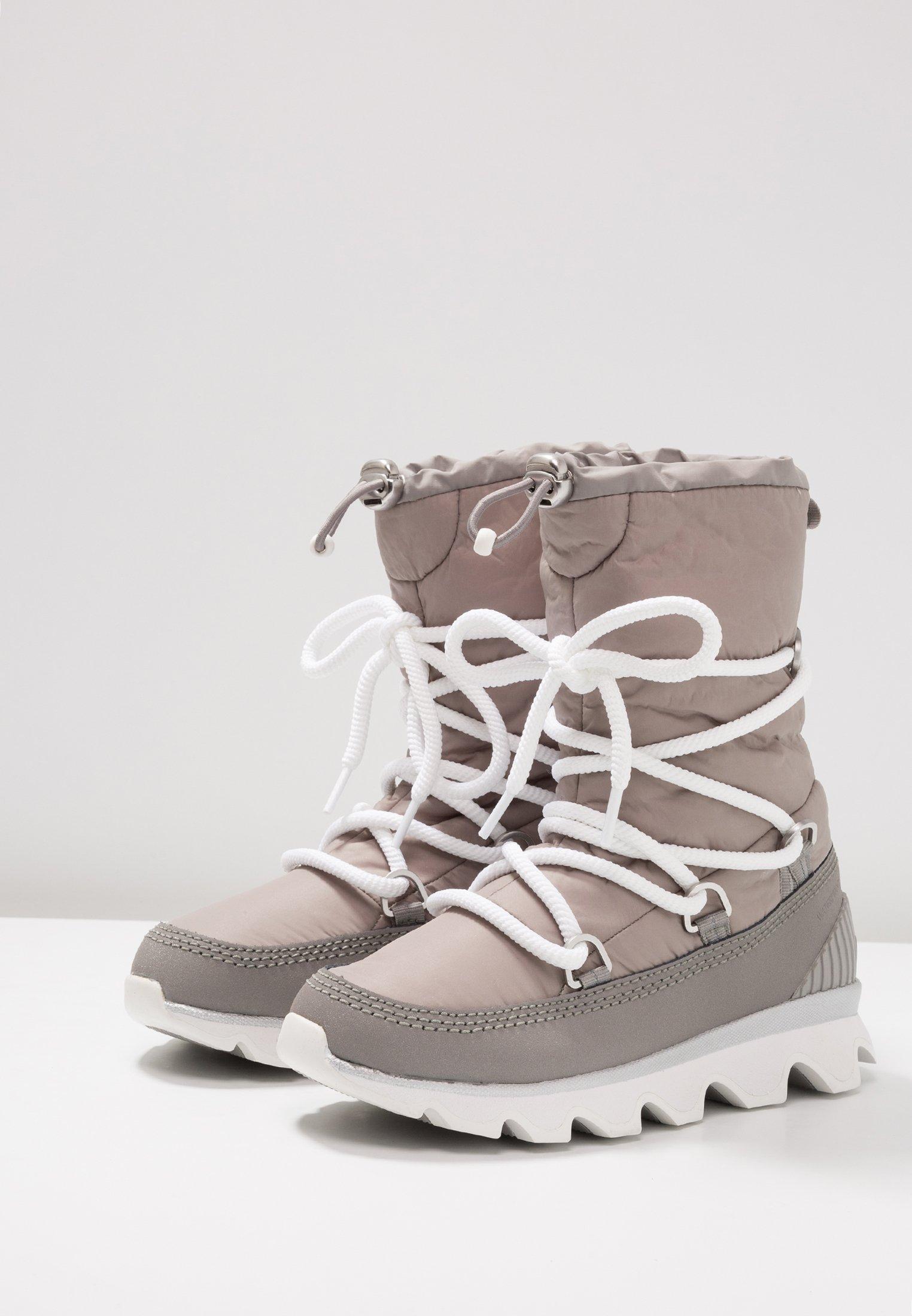 Sorel KINETIC - Bottes de neige chrome grey/white