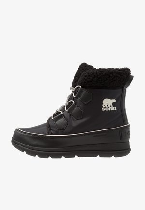EXPLORER CARNIVAL - Snowboots  - black/sea salt