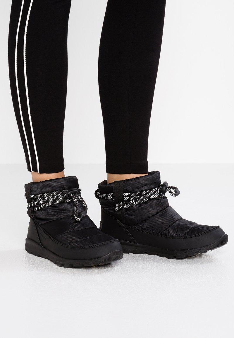 Sorel - WHITNEY SHORT - Zimní obuv - black