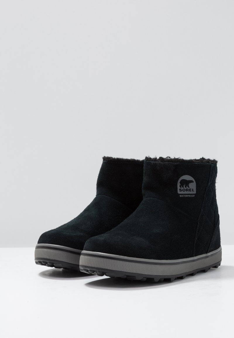 Glacy ShortBottes Sorel Neige Black De eIWDY29EHb