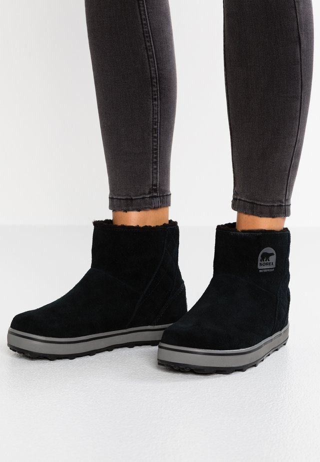 GLACY SHORT - Winter boots - black