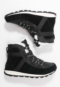 Sorel - WHITNEY FLURRY - Vinterstøvler - black - 3