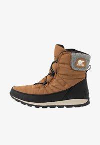 Sorel - WHITNEY SHORT LACE - Zimní obuv - elk - 1
