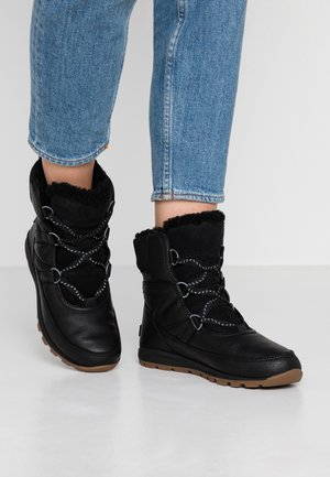 WHITNEY SHORT LACE PREMIUM - Winter boots - black