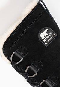Sorel - TORINO TALL - Zimní obuv - black - 2