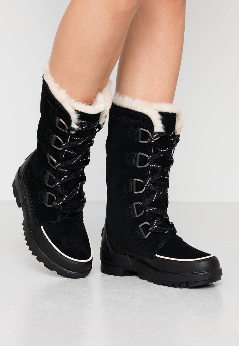 Sorel - TORINO TALL - Zimní obuv - black