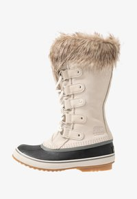 Sorel - JOAN OF ARCTIC - Stivali da neve  - dark stone/sea salt - 1