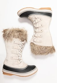 Sorel - JOAN OF ARCTIC - Stivali da neve  - dark stone/sea salt - 3