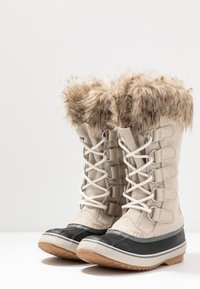 Sorel - JOAN OF ARCTIC - Stivali da neve  - dark stone/sea salt - 4