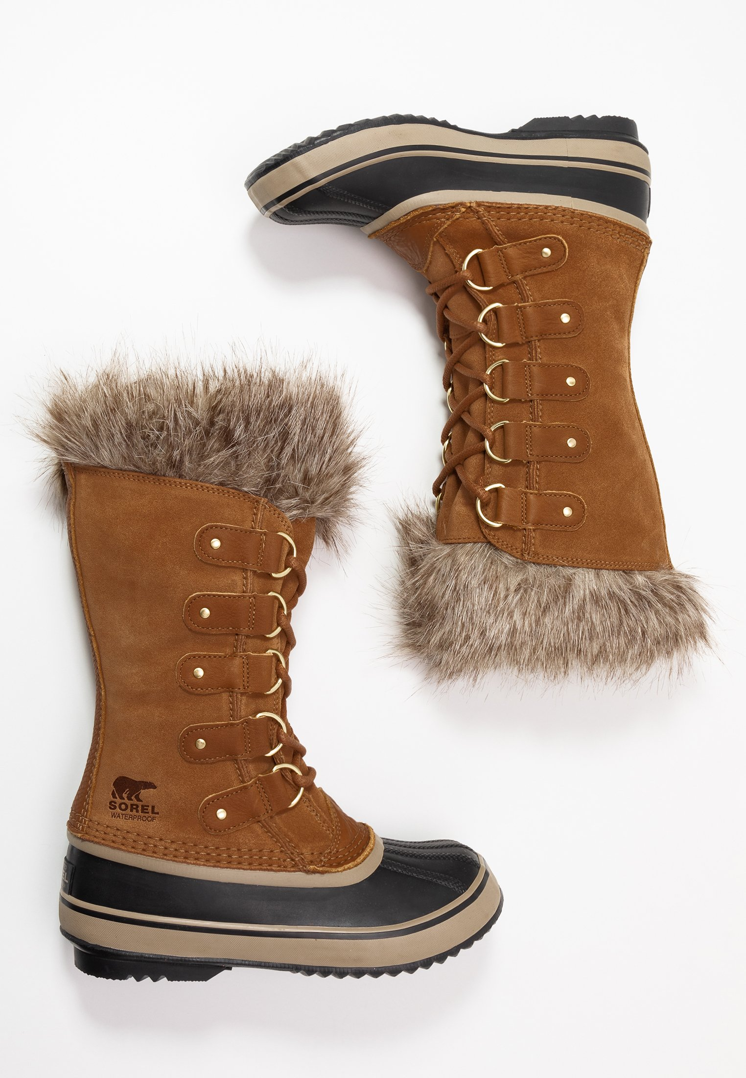Sorel JOAN OF ARCTIC - Śniegowce - camel brown/black