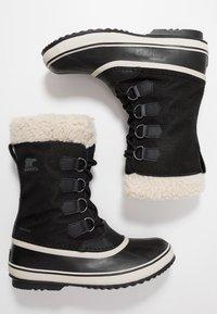 Sorel - WINTER CARNIVAL - Zimní obuv - black/stone - 3