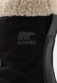 Sorel - WINTER CARNIVAL - Zimní obuv - black/stone - 2